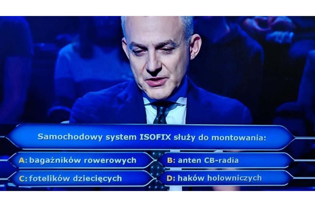Pytanie za 1000zł. Do czego służy Isofix?