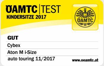 Cybex Aton M - test OAMTC