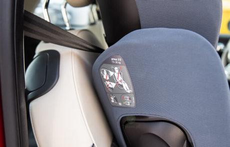 Nuna Aace - Fiat 500 Mały samochód i fotelik samochodowy