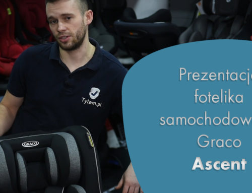 Nowy fotelik Graco Ascent, czyli RWF do 19kg z Testem Plus.