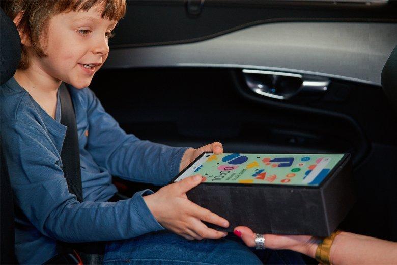 Volvo tablet jak cegła